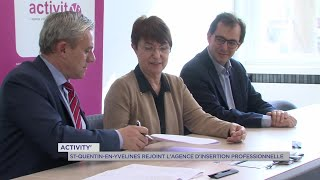 Yvelines | ActivitY' : Saint-Quentin-en-Yvelines rejoint l'agence d'insertion professionnelle