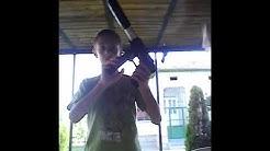 Моята пушка с топчета и тропическите ми пръчици
