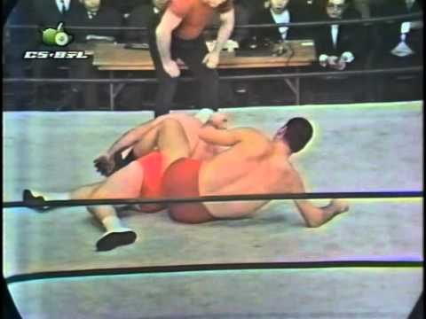 Giant Baba vs. The Destroyer 3/5/1969