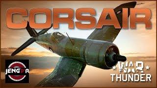 War Thunder Premium Review: Corsair F. Mk. II [Whistling Death]