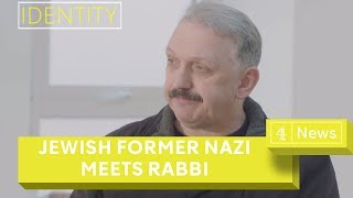 Neo-Nazi on a journey away from hate meets Rabbi