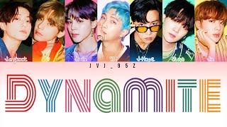 Download BTS(방탄소년단) - Dynamite (Acoustic Remix) [Colour Coded Eng Lyrics]