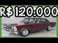 R$ 120.000 PASTORE Ford Galaxie Landau 1979 Edição Especial 302 Vermelho Scala Metálico V8 199 cv