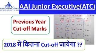 AAI ATC Previous Year Cut-Off Marks | Expected Cut-Off AAI ATC 2018 | SpeedUp Education