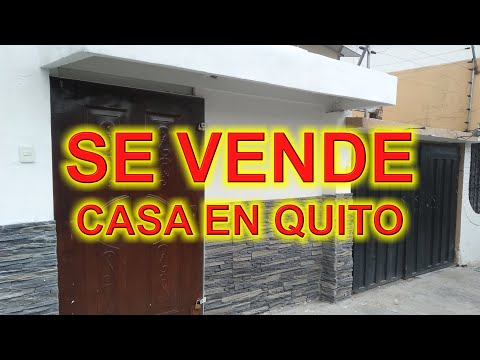VENTA DE CASA/DEPARTAMENTO 260m2 EN AV. REAL AUDIENCIA QUITO ECUADOR - INMOBILIARIA