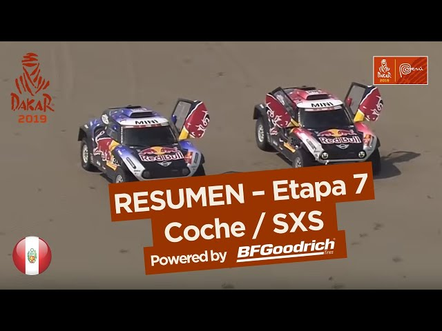 Resumen - Coche/SxS - Etapa 7 (San Juan de Marcona / San Juan de Marcona) - Dakar 2019