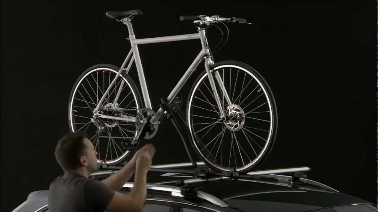 bike carrier roof thule freeride 530 youtube. Black Bedroom Furniture Sets. Home Design Ideas