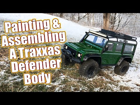 Customize Your Truck - Traxxas TRX-4 Land Rover Defender Painting & Detailing Tips  | RC Driver