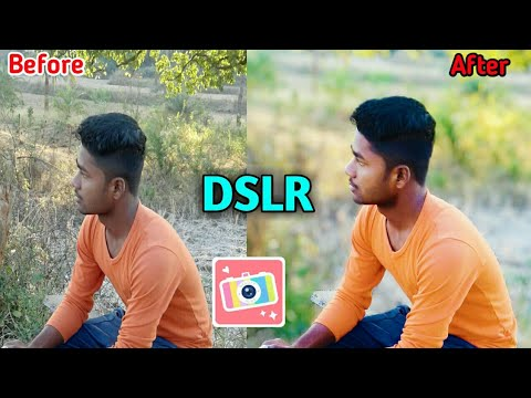 DSLR Photo editing in mobile  Beautyplus application 2019