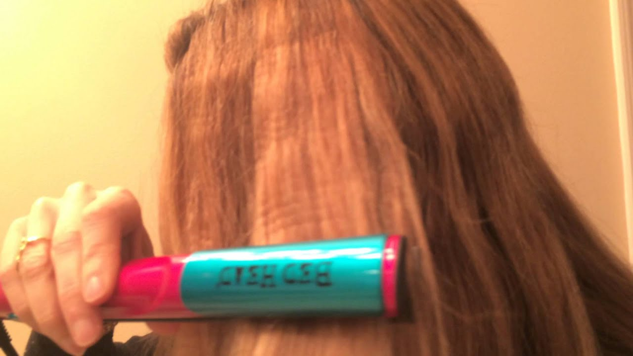 Bed Head Crimping Iron Youtube