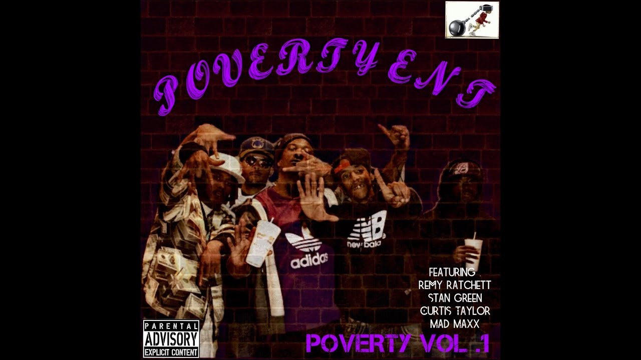 Poverty Ent - Magazine cover