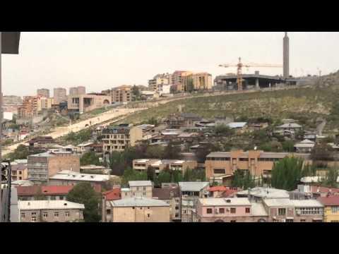 Yerevan 30.04.15, Video-1,Panorama From Isahakyan  Str.
