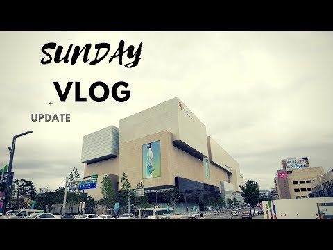SUNDAY Aquarium & Travel Update | Daegu Shinsegae | Peep Outside