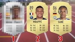 Die 20 schnellsten Spieler in FIFA 20.