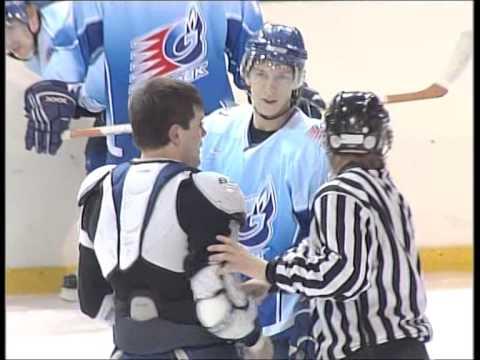 хоккей, драка Дмитрий Крамаренко №2 (2007-2008)