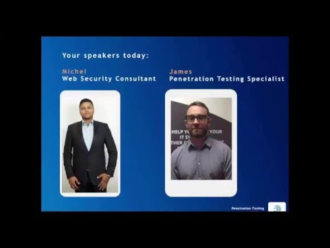 Webinar - Penetration Testing: A simulated hacker attack to secure your business