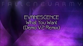 Evanescence - What You Want (Demo V.2 Remix) by The Musical Midget