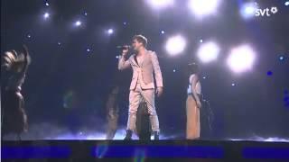 [WINNER] Eurovision 2013 Sweden Robin Stjernberg   You (Final performance)