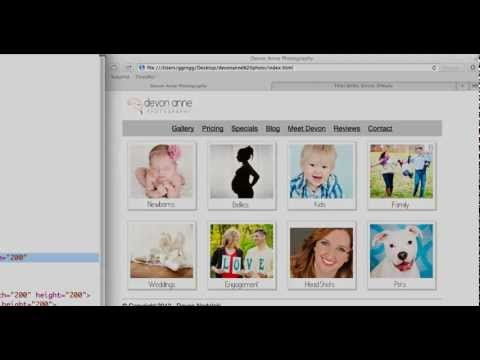 HTML 5 - Link An Image
