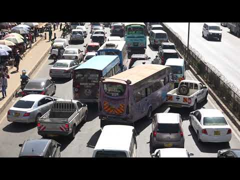 Dealing  with  traffic  jams  in  Kenya,  Kenya  Urban  Roads  Authority _ Kelly Ogome