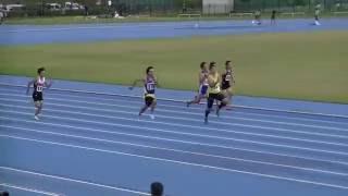 2016.10.8 太子町土曜記録会 共通男子100m1組