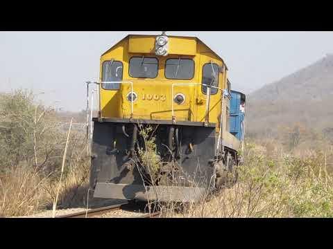 (1003) Zimbabwe Train 'Harare to Mutare 31-8-19'