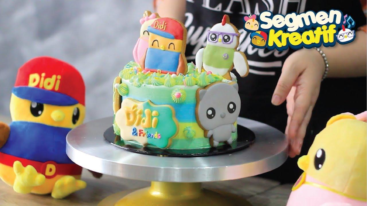 Didi Friends X Splash Cupcakes Segmen Kreatif Cara Nak Buat Kek Didi Friends Youtube