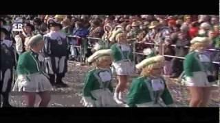 Rhenania Carneval Club beim Mainzer-Rosenmontagsumzug