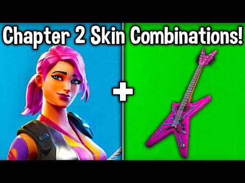 10 BEST FORTNITE CHAPTER 2 SKIN + BACKBLING COMBOS! (New Battle Pass Combinations)