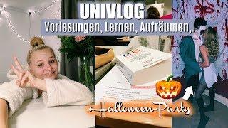 UNIVLOG - Alltag Jura Studium, Halloween-Party, Vorlesungen,... // Miss Aliana