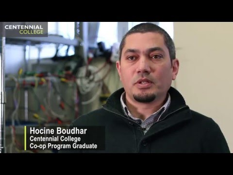 Centennial College: Co-op Success Stories - Hocine Boudhar