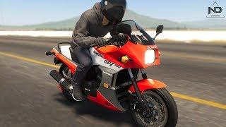 The Crew 2 #31 - Đi mua xe moto cổ Kawasaki GPZ 900 Ninja | ND Gaming