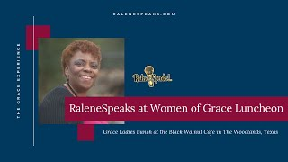 Ralene Berry speaks at Grace Ladies Luncheon