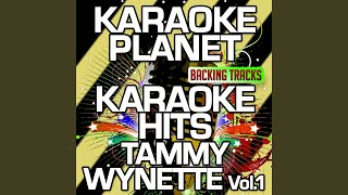Apartment #9 (Karaoke Version With Background Vocals) (Originally Performed By Tammy Wynette)