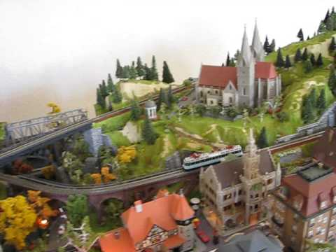 Baden-Baden N-scale train layout – 4
