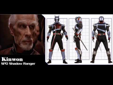 Power Rangers SPD Cast In Space