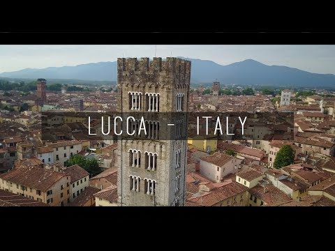 Lucca HD  - Tuscany - Italy from Above