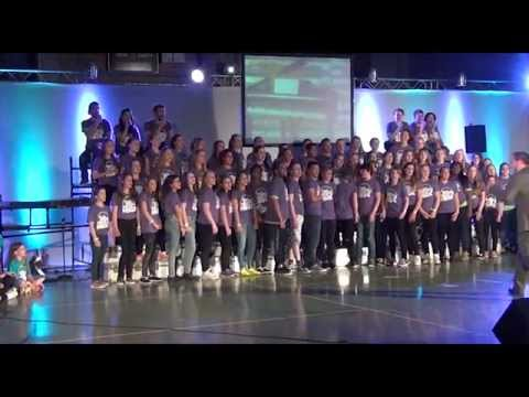 Witzenhausen School Musical Germany 2015, with The Young Americans