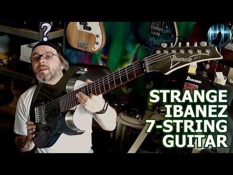 What Is This Strange Ibanez 7-String Guitar?