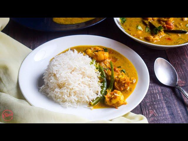 Prawn Curry | Prawn Coconut Curry | Prawn Curry Recipe