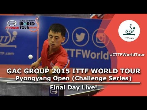 2015 ITTF World Tour Pyongyang Open - Final Day Morning