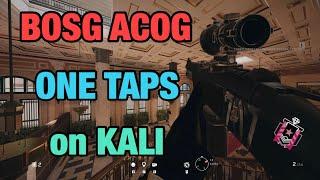 BOSG ACOG ONE TAPS on KALI *NEW* - Rainbow Six Siege