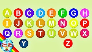 Learn ABC 123 - Alphabets and Numbers for Kids