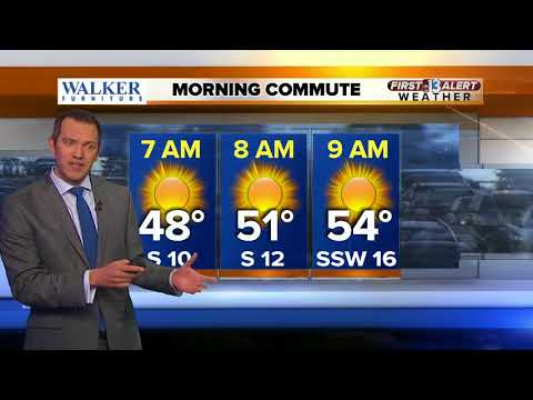 13 First Alert Las Vegas Weather for March 2 Morning
