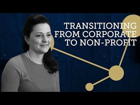 Transitioning from Corporate to Non Profit - Lisa Lalande   Talking with Charities