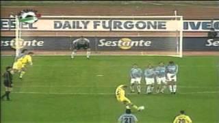 Serie A 2001-2002, day 23 Lazio - Chievo 1-1 (S.Inzaghi, Legrottaglie)