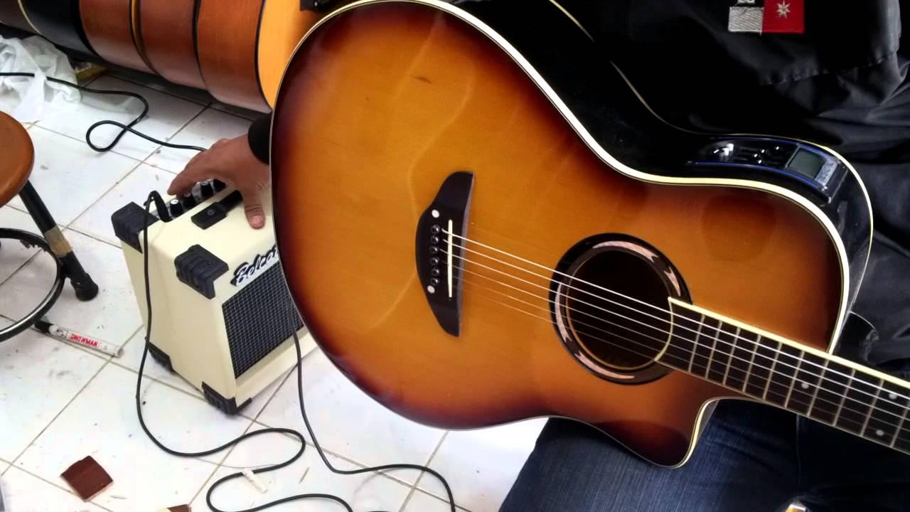 test sound ampli gitar belcat 20G