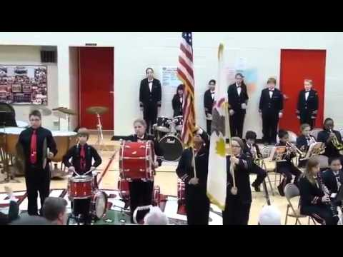 Star Spangled Banner Cymbal Fail 2013.05.18 EJH Red & White Concert