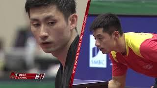 ジャパンOP 男子シングルス 準々決勝 上田仁vs張継科[フル]