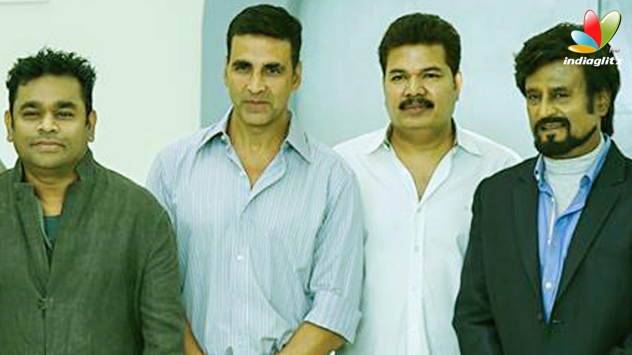 Official ! Superstar Rajinikanth-Shankar 2.0 movie begins | AR ...